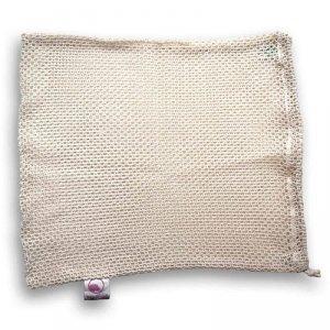 Bag-again, Siatka z organicznej bawełny na owoce i warzywa L, 38 x 30 cm