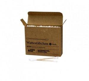 5 x Patyczki do uszu w 100% BIODEGRADOWALNE z bawełny i bambusa 100 sztuk