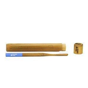 Bambusowe Etui do przenoszenia szczoteczki do zębów PRAKTYCZNE i EKOLOGICZNE