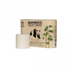 Papier toaletowy bambusowy 3-warstwowy 6 rolek