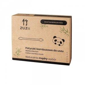 Patyczki kosmetyczne bambusowe z bawełną dla dzieci 50 szt
