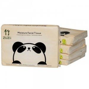 Chusteczki higieniczne bambusowe z balsamem, 3-wartwowe, 40 sztuk