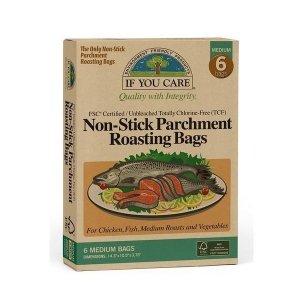 Torba worek do pieczenia mięsa i warzyw kompostowalny 6 szt.