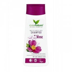 Naturalny nawilżający szampon do włosów z dziką różą