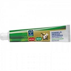 MGOPasta do zębów z Miodem 400+ Propolisem BIO 30i Olejkiem Manuka(100 ml)