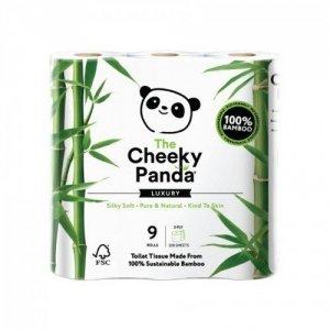 100% Bambusowy Papier toaletowy trzywarstwowy - 9 rolek