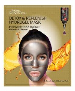 7th heaven - Renew You Detox & Replenish Hydrogel Mask hydrożelowa nawilżająca maseczka do twarzy minimalizująca pory 1szt
