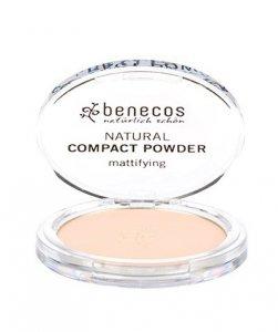 Benecos - Natural Compact Powder naturalny puder w kompakcie Jasny 9g