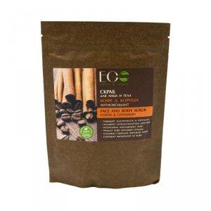 Ecolab - Face And Body Scrub peeling do twarzy i ciała Coffee & Cinnamon 200g