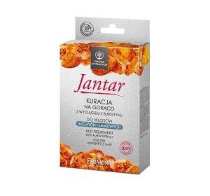 Farmona - Jantar Hot Treatment With Amber Extract For Dry And Brittle Hait kuracja na gorąco do włosów suchych i łamliwych