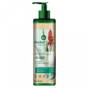Farmona - Herbal Care nawilżające mleczko do ciała Aloes z Betainą 400ml