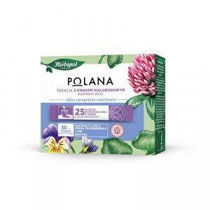 Polana - Esencja z kwasem hialuronowym suplement diety 25 saszetek