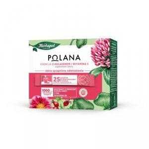 Polana - Esencja z kolagenem i witaminą C suplement diety 25 saszetek