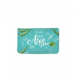 Barwa - Naturalna Soap pielęgnacyjne mydło w kostce do rąk i ciała Aloe Vera 100g