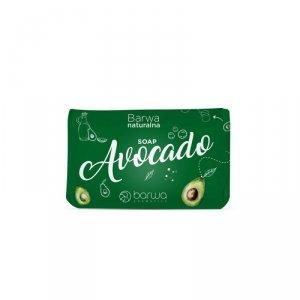Barwa - Naturalna Soap pielęgnacyjne mydło w kostce do rąk i ciała Avocado 100g