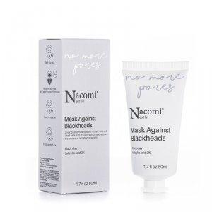Nacomi - Next Level Mask Against Blackheads maska przeciw zaskórniakom 50ml