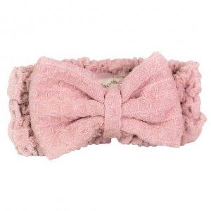 Nacomi - Opaska do włosów z mikrofibry Pink
