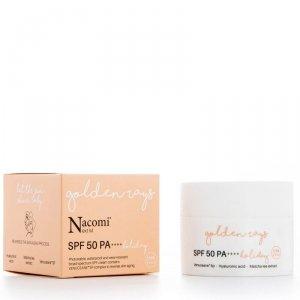 Nacomi - Next Level SPF50 PA++++ przeciwzmarszczkowy krem wodoodporny do twarzy Holiday 50ml