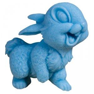 Laq - Happy Soaps Niebieski Uśmiechnięty Królik naturalne mydło glicerynowe Owocowy 60g