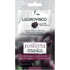 Uzdrovisco - Roślinna maska do twarzy redukująca zmarszczki Czarny Tulipan 10ml