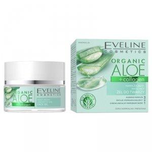 Organic Aloe + Collagen nawilżająco-matujący żel do twarzy 50ml