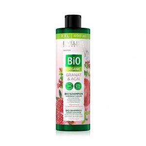 Bio Organic bioszampon chroniący kolor do włosów farbowanych i z pasemkami Granat & Acai 400ml