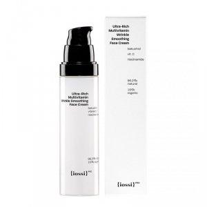 Iossi - Ultra-Rich Multivitamin Wrinkle Smoothing Face Cream multiwitaminowy wygładzający krem do twarzy z bakuchiolem 50ml