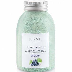 Kanu nature - Fizzing Bath Salt sól musująca do kąpieli Winogrono 250g