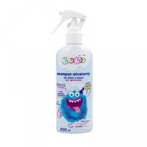 Booboo - Szampon micelarny dla dzieci w sprayu bez spłukiwania 200ml