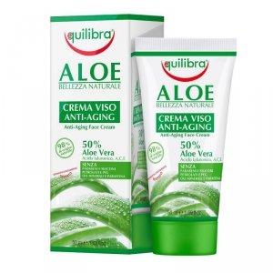 Equilibra - Aloe Anti-Aging Face Cream aloesowy przeciwstarzeniowy krem do twarzy 50ml
