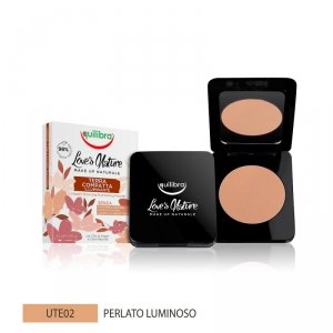 Equilibra - Love's Nature Compact Bronzing Powder puder brązujący 02 Pearly Bright 8.5g