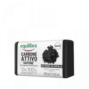 Equilibra - Carbo Detox 100% Vegetal Detox Soap mydło oczyszczające 100% roślinne z aktywnym węglem 100g