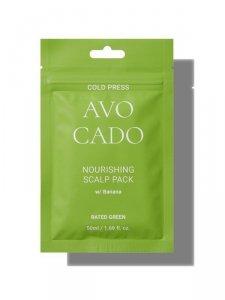 Rated green - Avocado kuracja odżywcza do skóry głowy z awokado i bananem 50ml