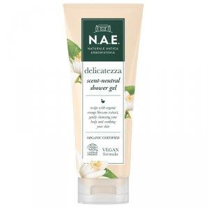 N.a.e - Delicatezza Scent-Neutral Shower Gel łagodzący żel pod prysznic z ekstraktem z kwiatu pomarańczy 200ml