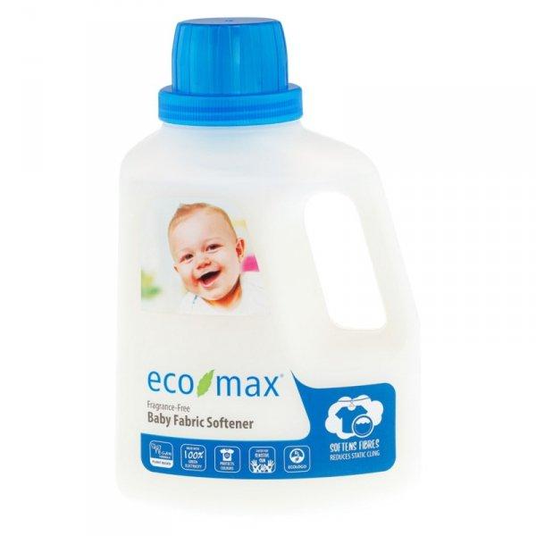 Eco-Max, Zmiękczacz do ubranek dziecięcych, bezzapachowy, 1,5L