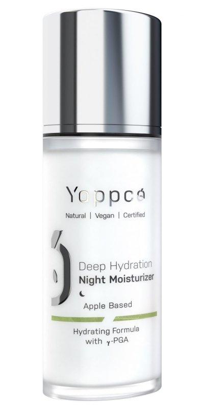 Yappco, Głęboko nawilżający krem do twarzy na noc, 50ml