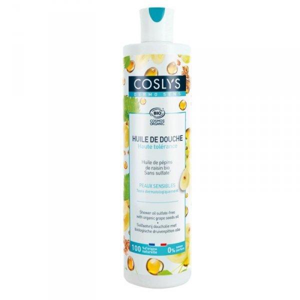 Coslys Dermosens, Bezzapachowy olejek pod prysznic z olejem z pestek winogron, 380 ml