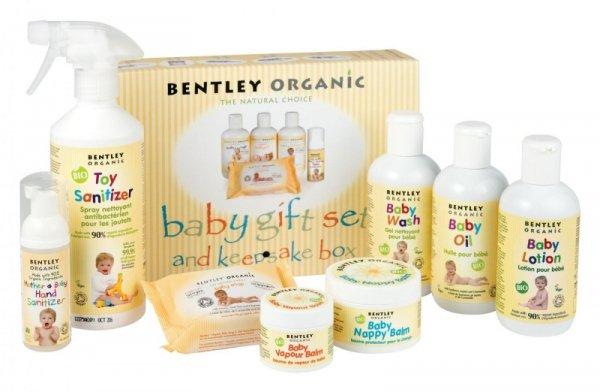 Bentley Organic, Dziecięcy Żel do Mycia i Szampon z Aloe Vera, Rumiankiem i Lawendą, 250 ml