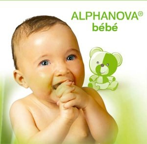 Alphanova Bebe, Naturalne Chusteczki Nawilżane 72 szt.