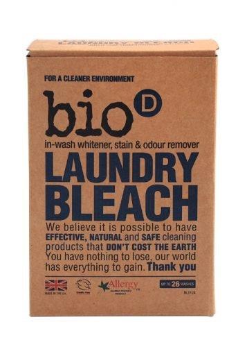 Bio-D, Laundry Bleach - Odplamiacz, Wybielacz, Eliminator Zapachów, 400g