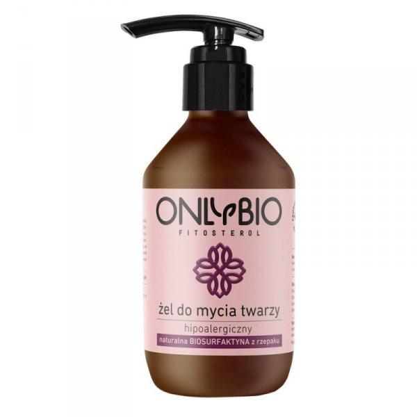 Only Bio, Hipoalergiczny żel do mycia twarzy, 250ml