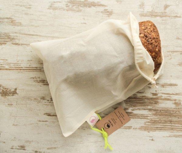 Bag-again, Worek z organicznej bawełny, 47 x 31 cm