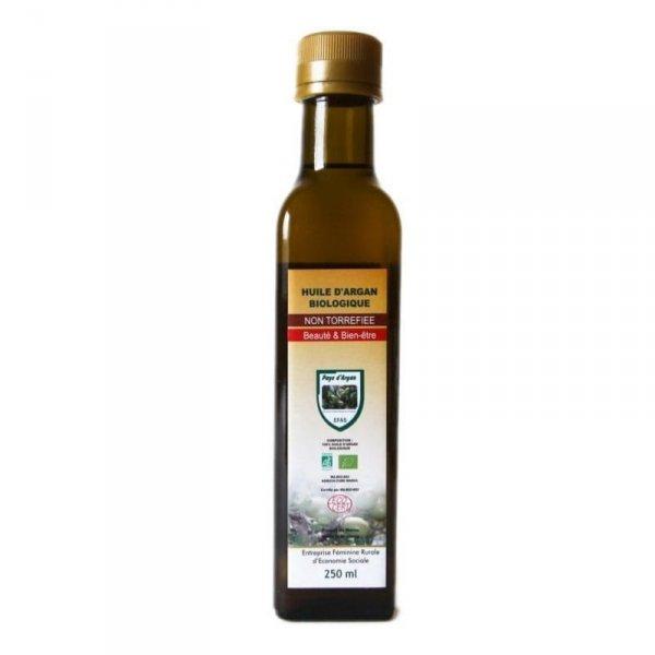 EFAS Olejek arganowy kosmetyczny 100% BIO szkło ciemne 250ml