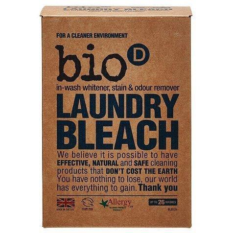 BIO-D Laundry Bleach Odplamiacz, Wybielacz, Eliminator Zapachów EKOLOGICZNY 400g