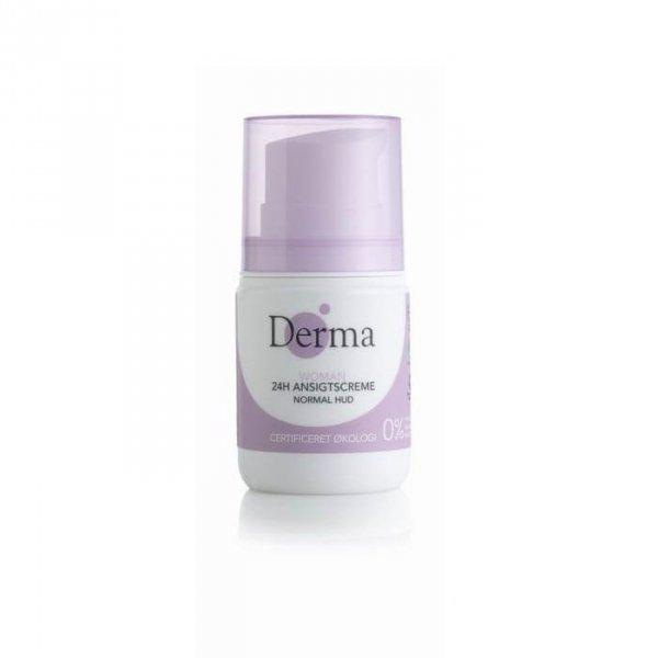 Derma Eco Woman Krem do twarzy 24h certyfikowany skóra normalna 50ml