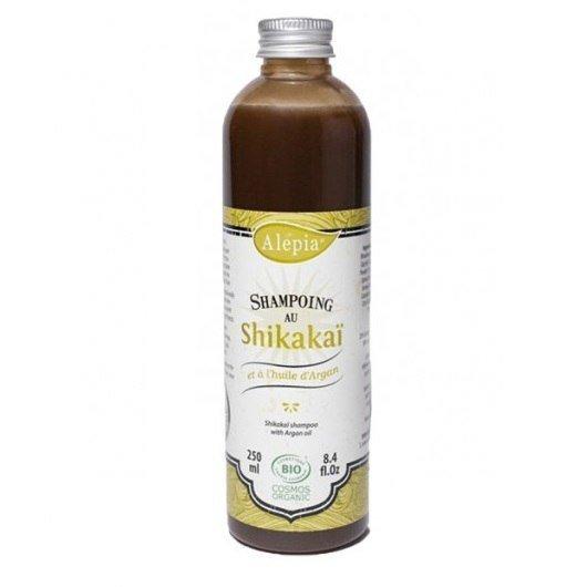 ALEPIA Organiczny szampon Shikakai z Olejem Arganowym 250ml