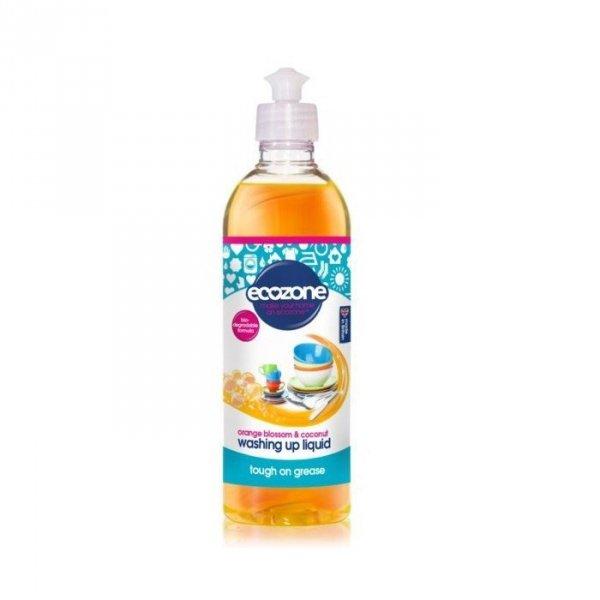 ECOZONE Płyn do mycia naczyń Kwiat Pomarańczy i Kokos 500ml
