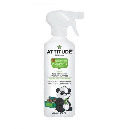 ATTITUDE Płyn do czyszczenia zabawek i powierzchni w pokoju dziecka Bezzapachowy 475 ml