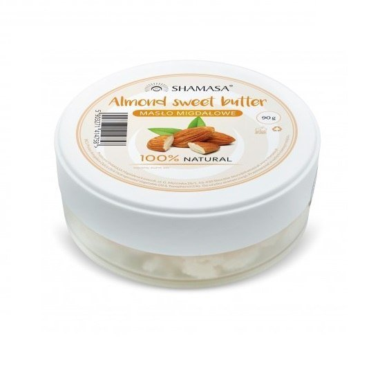 SHAMASA Masło migdałowe - dotyk aksamitu 90g