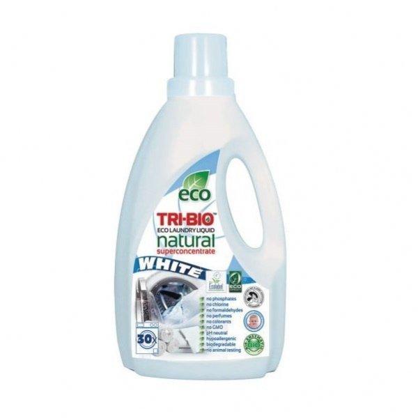 TRI-BIO Ekologiczny skoncentrowany płyn do prania WHITE 1,42 l